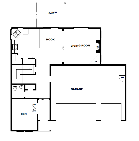 Plan 2207 Floor Plan 1