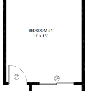 2588- 4th Bedroom opt