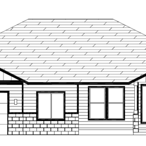 Lot 18 AW- front elevation