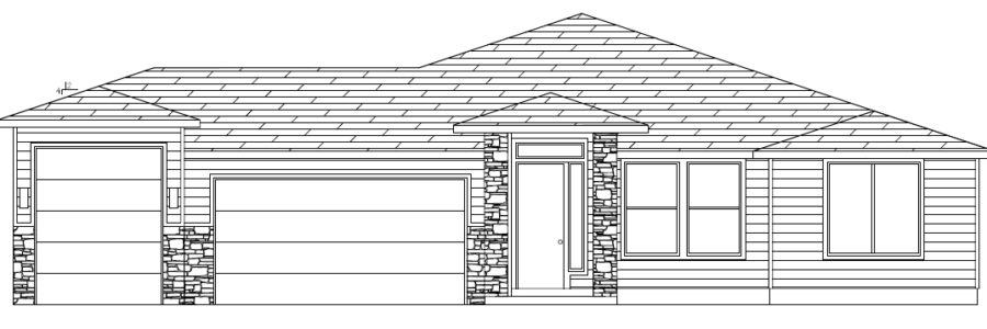 Plan 2560 elevation