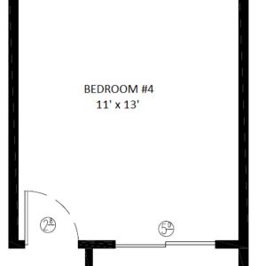 2588- 4th Bedroom opt