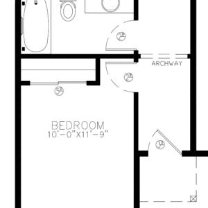 2487 downstairs bedroom