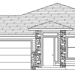 Plan 2560 elevation